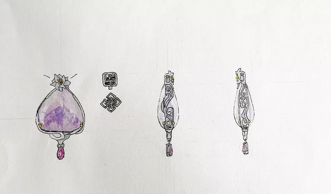 菩心近期的设计款单品以及设计图展示-菩心晶舍