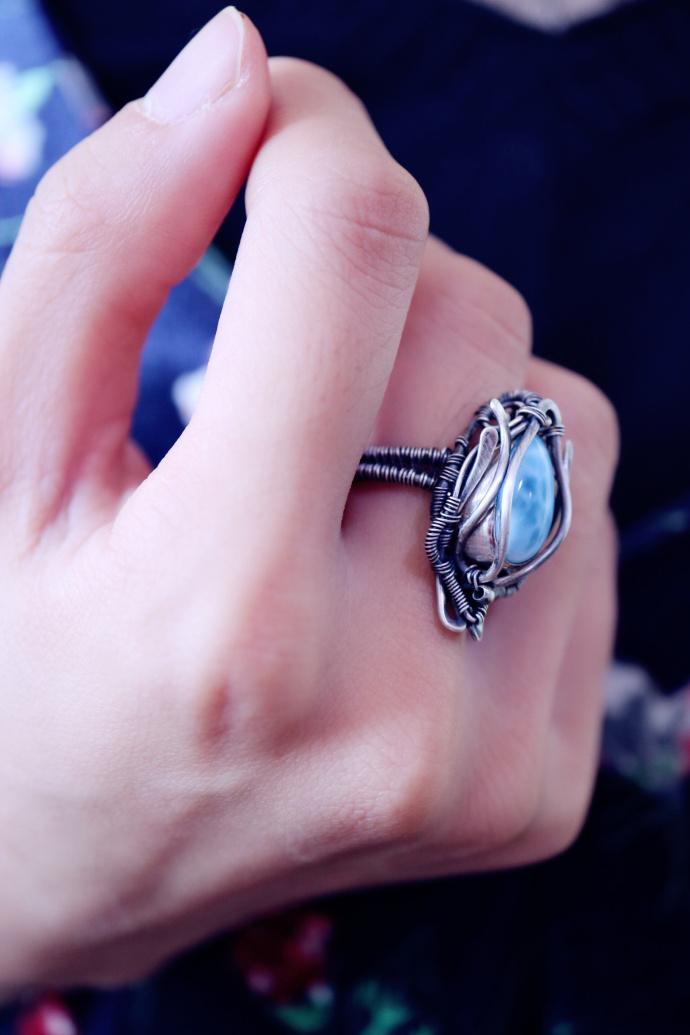 【海纹石】 🐬亚特兰蒂斯遗留下来的宝石—海纹石-菩心晶舍