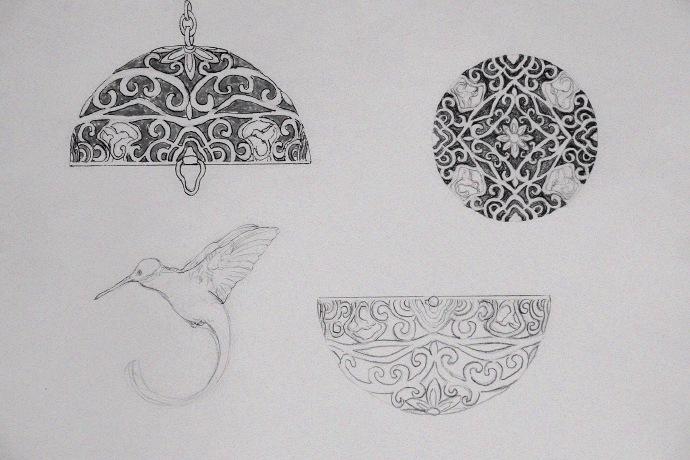 「香囊手稿」这是一款超有历史感的物件设计哦-菩心晶舍