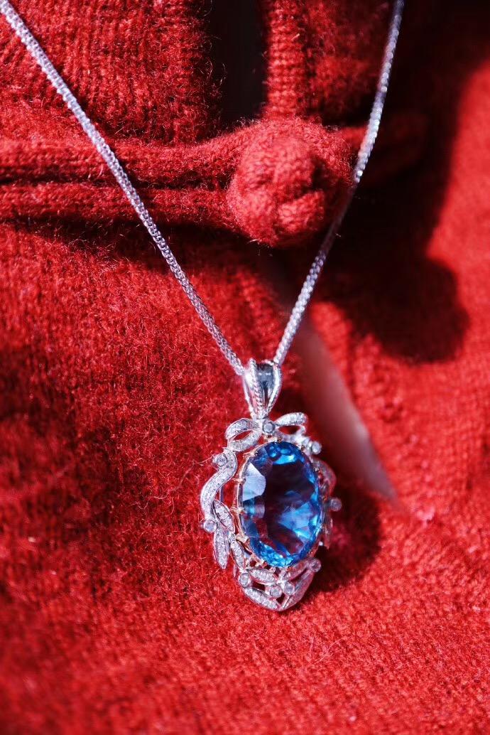 【菩心-托帕石&经典款】代表自信的托帕石,是女神的必收单品-菩心晶舍
