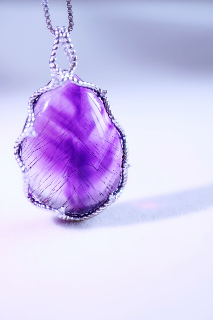【紫发晶|白金】 你可见过漫天紫色的美景?-菩心晶舍