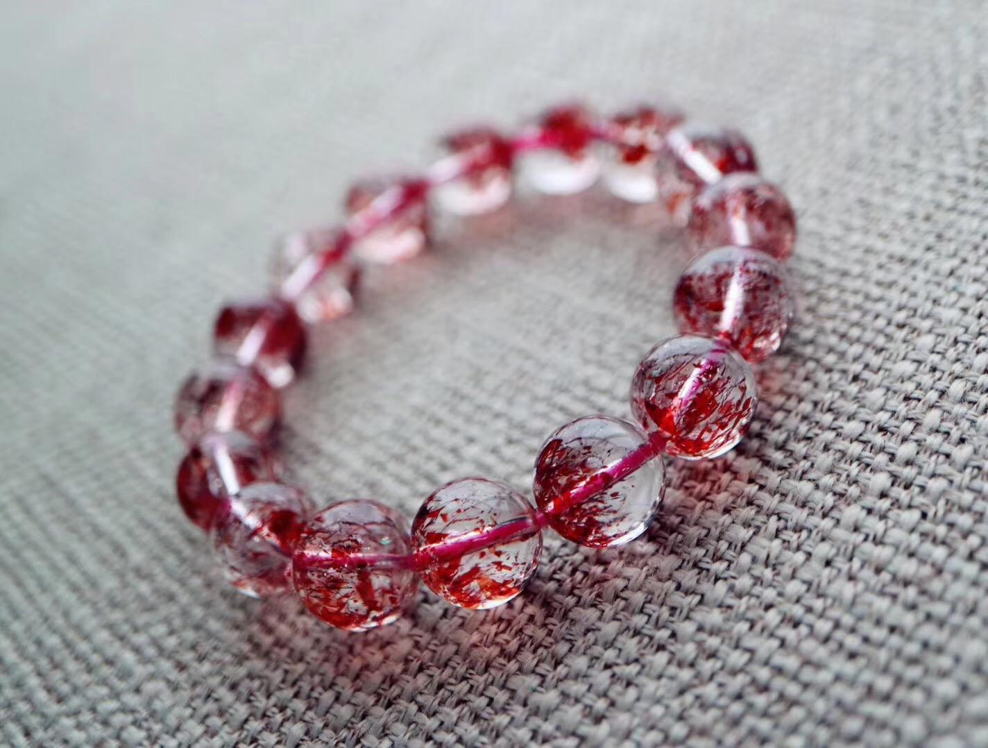 【金草莓晶   超七】品质上乘的非常稀少,灵性极高-菩心晶舍