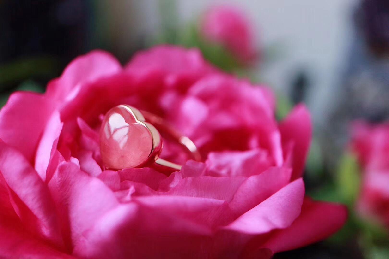 【菩心 | 冰种红纹石💗】我会带着喜悦的祝福能量进入你的气场之内-菩心晶舍