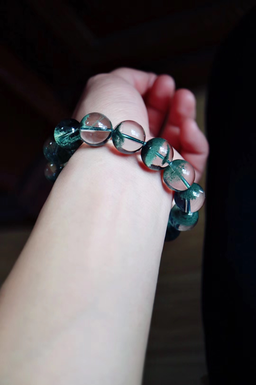 【菩心绿幽灵】这一抹绿代表着对心轮深深的疗愈-菩心晶舍
