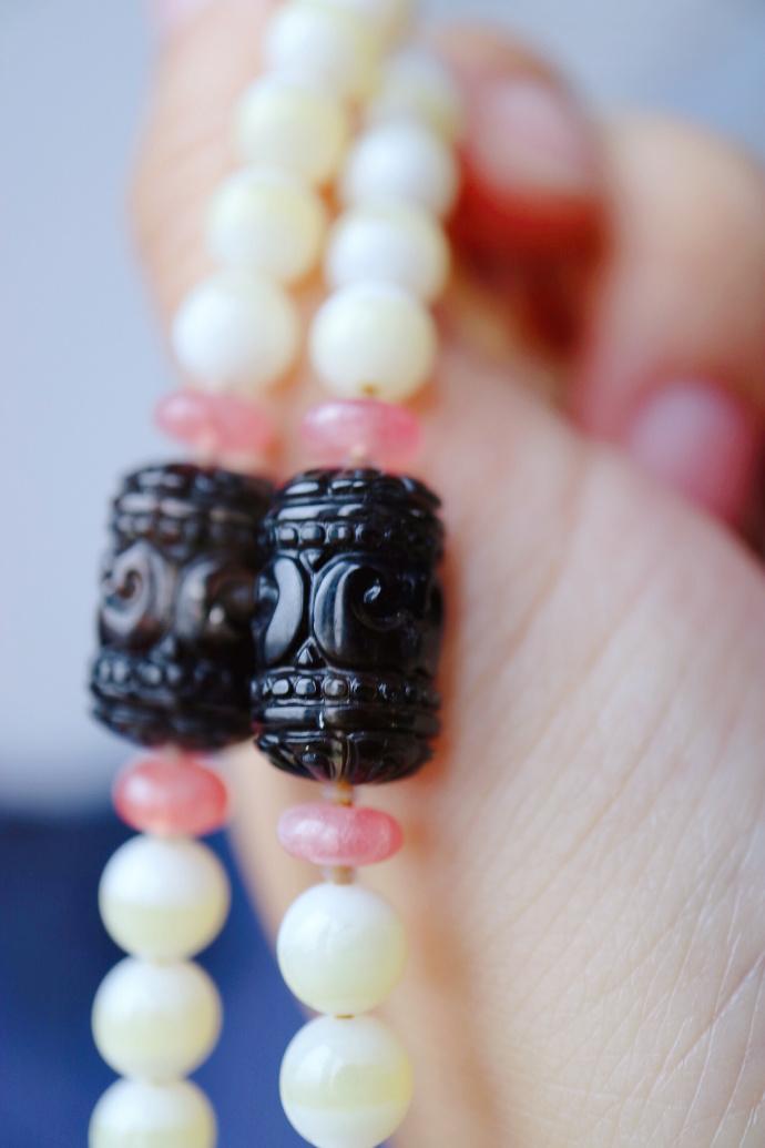 『砗磲 | 碧玺 | 红纹石』 砗磲,也是灵性至高之物-菩心晶舍
