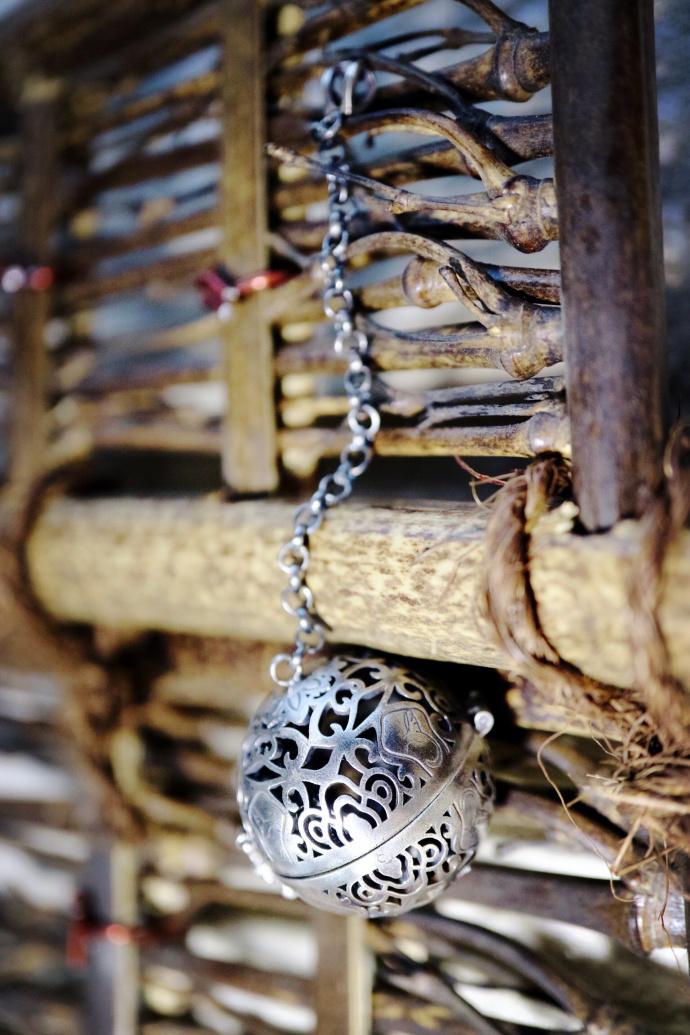 【香囊 纯手工】枚纯手工打造的香囊,融入了很多当代的能量图腾-菩心晶舍