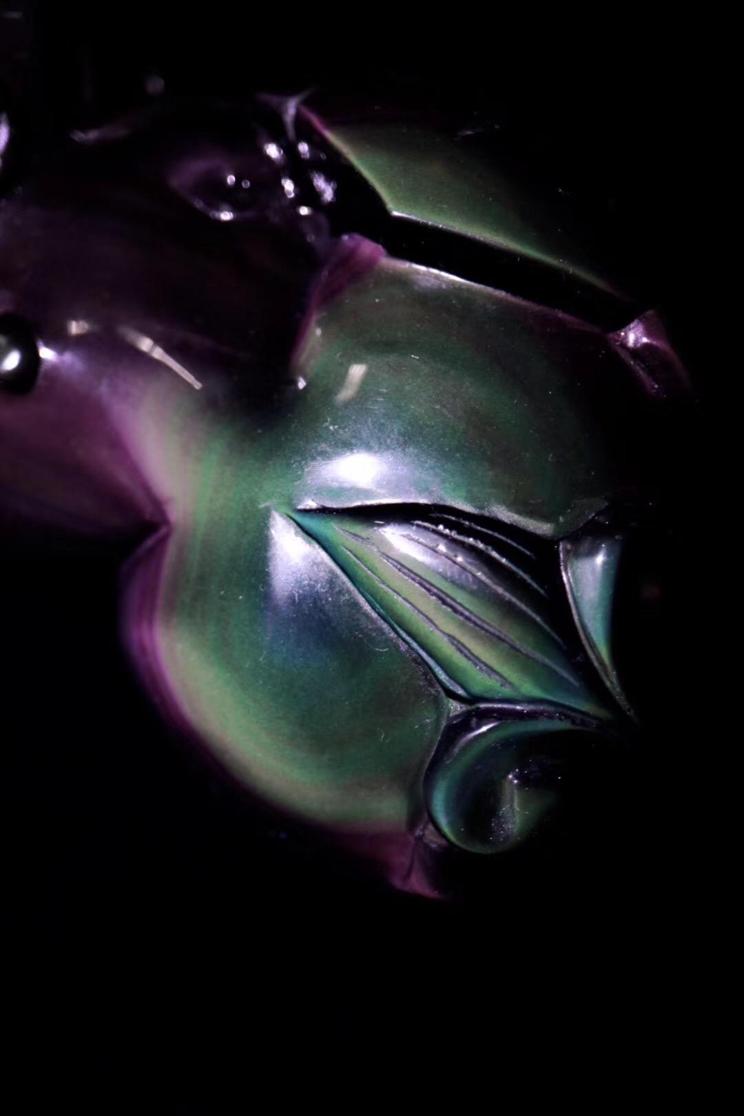 【极品黑曜石貔貅摆件】有镇宅之功效,成为家中的守护神,保合家平安~~-菩心晶舍