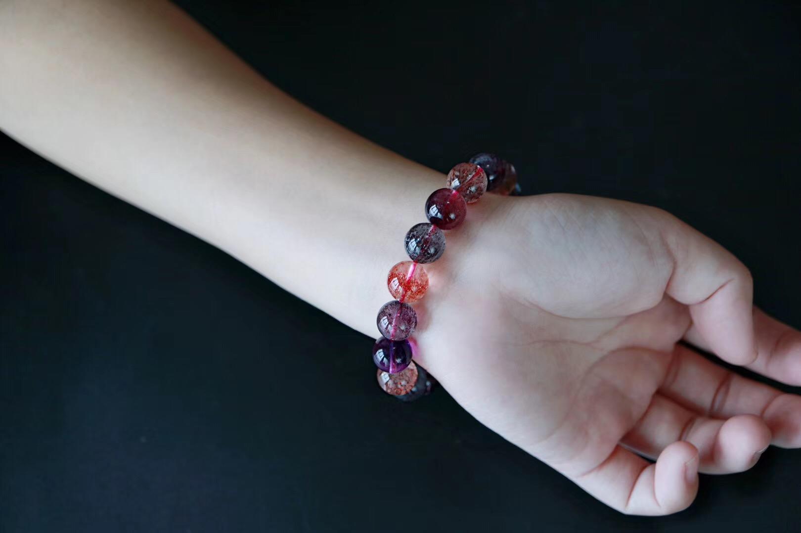 【三轮骨干紫发晶】每一颗都充满无限魅力,愿得一心人~~-菩心晶舍
