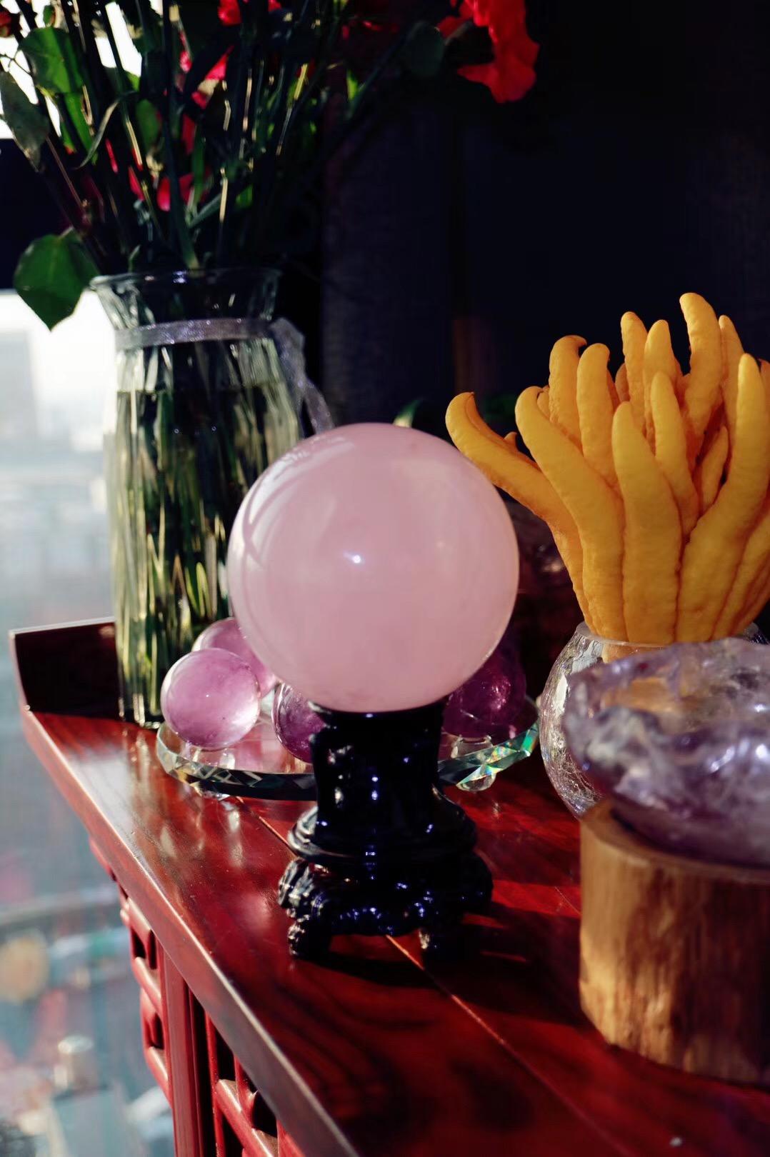 【菩心 | 六道🌟粉晶球】眼中有美,心中有爱-菩心晶舍