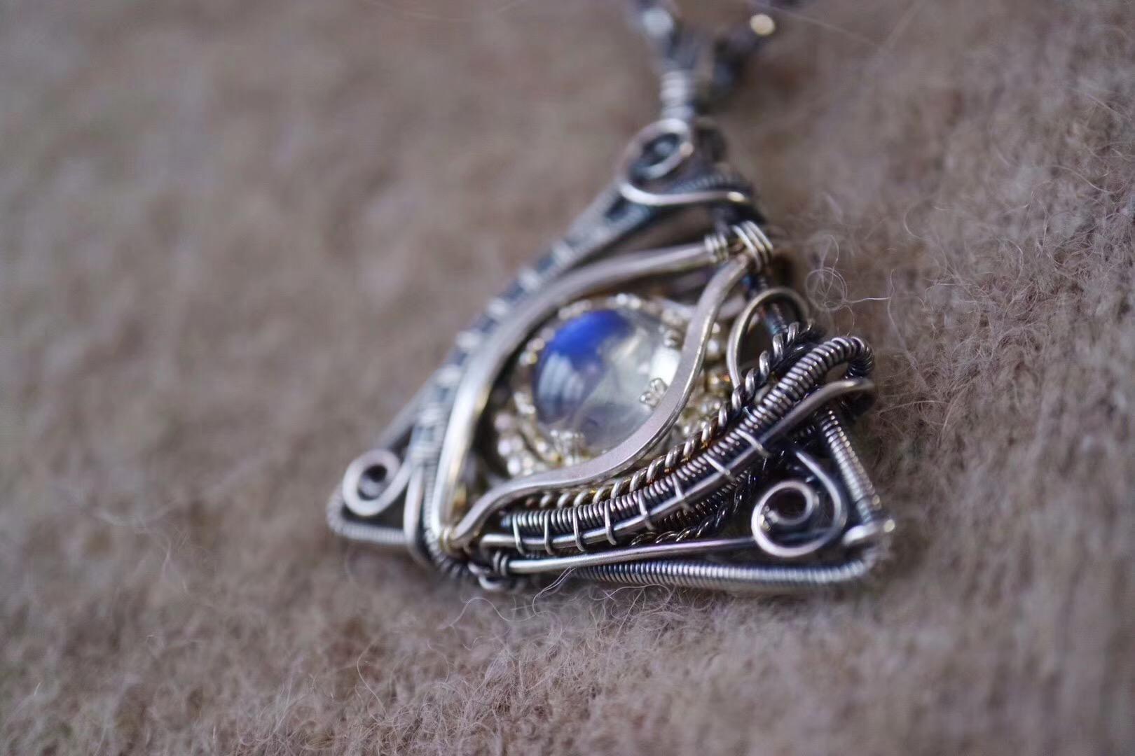 【菩心-月光石】智慧之眼,守护主人,开启对人世最正的目光。-菩心晶舍