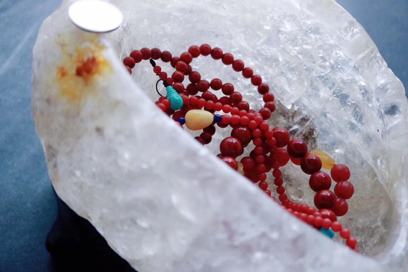 【菩心   白水晶聚宝盆】风水学上,天然水晶有风水石之称-菩心晶舍