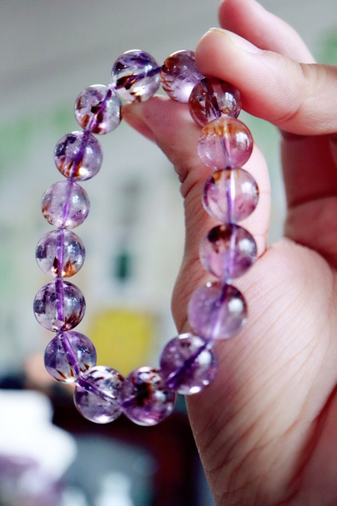 【极品紫钛晶】紫钛晶,更是改运招财的强力风水石!-菩心晶舍