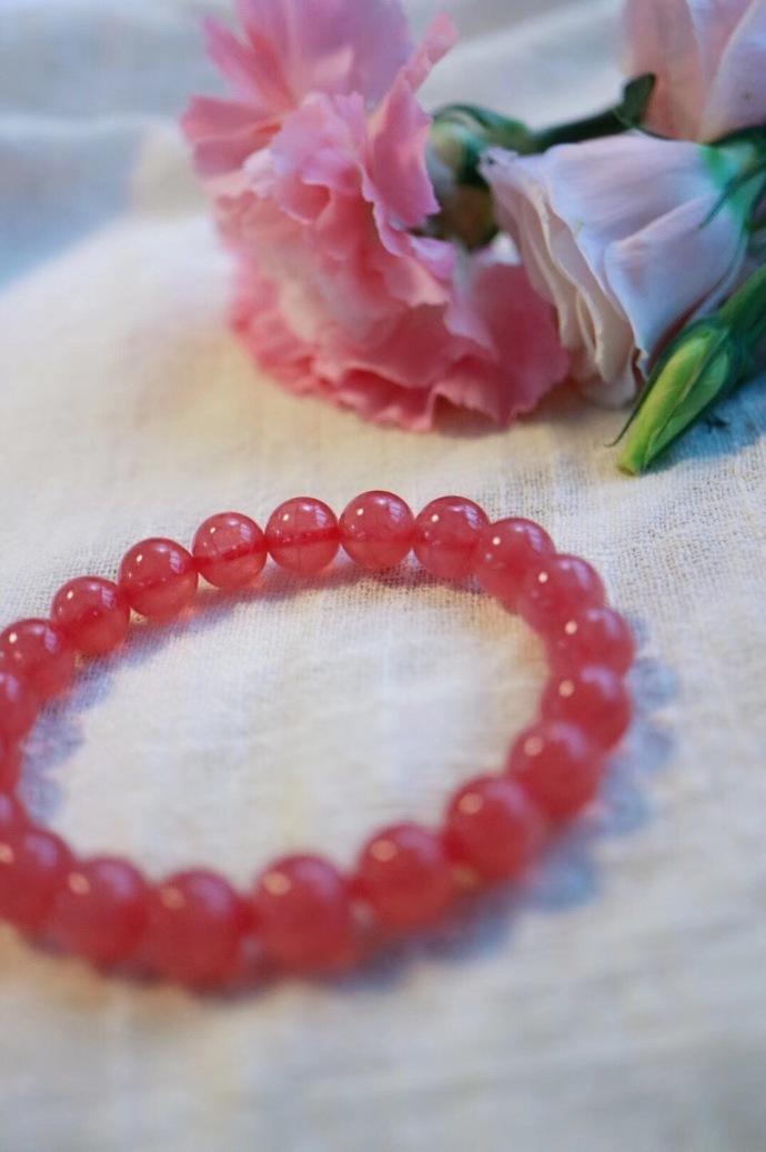 既遇君子 云胡不喜 ——红纹石·关于爱❤️ -菩心晶舍