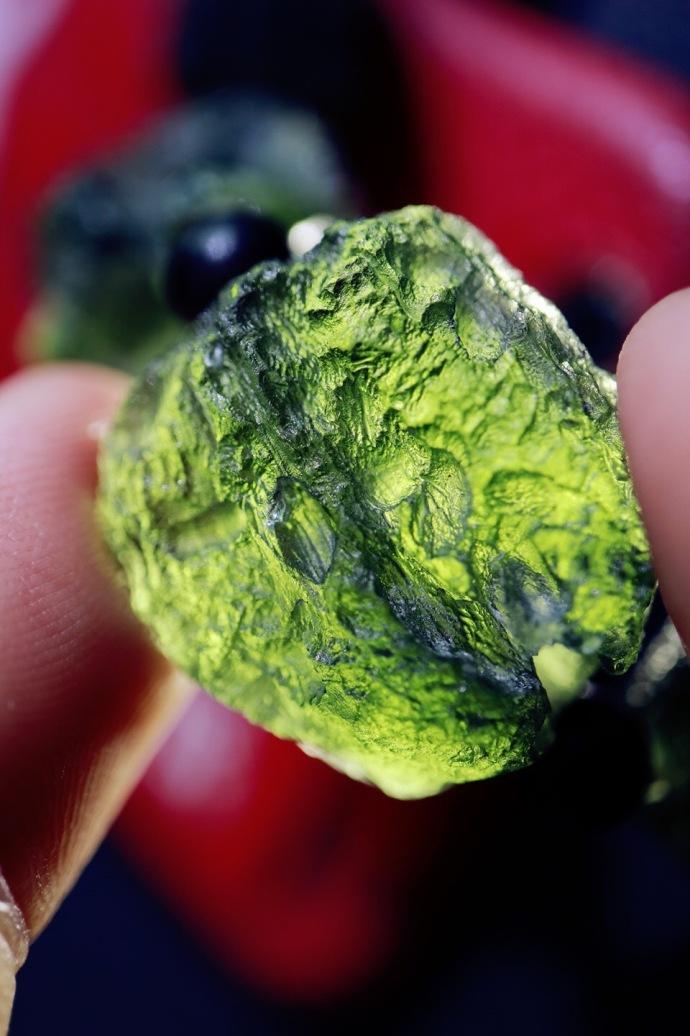 【捷克陨石】 每一颗捷克陨石,都是一个世界。-菩心晶舍