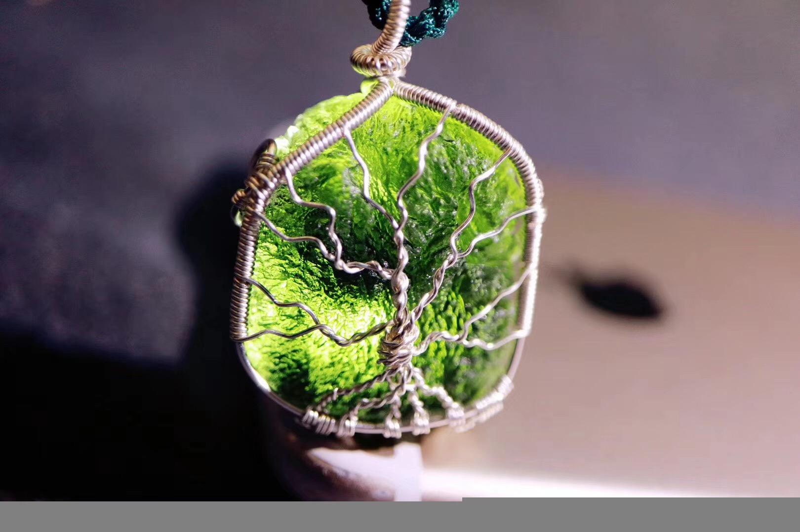 【菩心捷克陨石】愿你对自己的爱如生命之树般万古常青,欣欣向荣~~-菩心晶舍