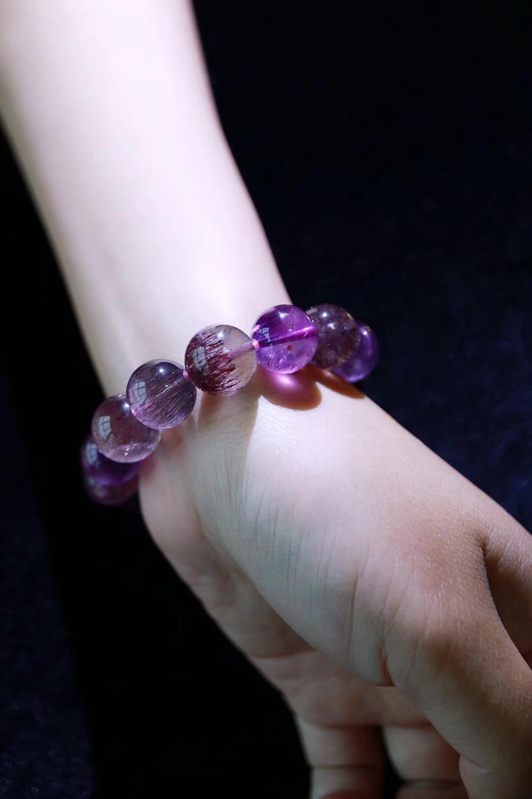 【菩心 | 紫发晶】极具灵力的晶石,妥妥滴紫气东来-菩心晶舍