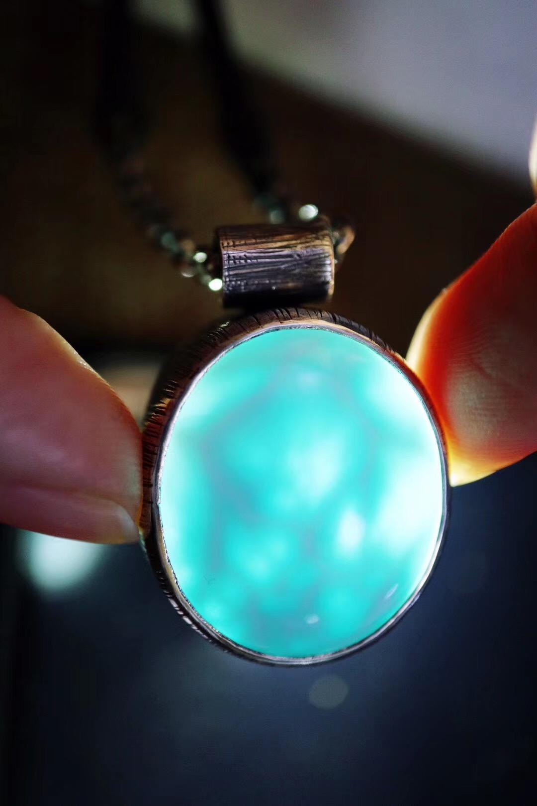 【菩心-海纹石】海纹石是喉轮的晶石,更是增强自信的宝石-菩心晶舍