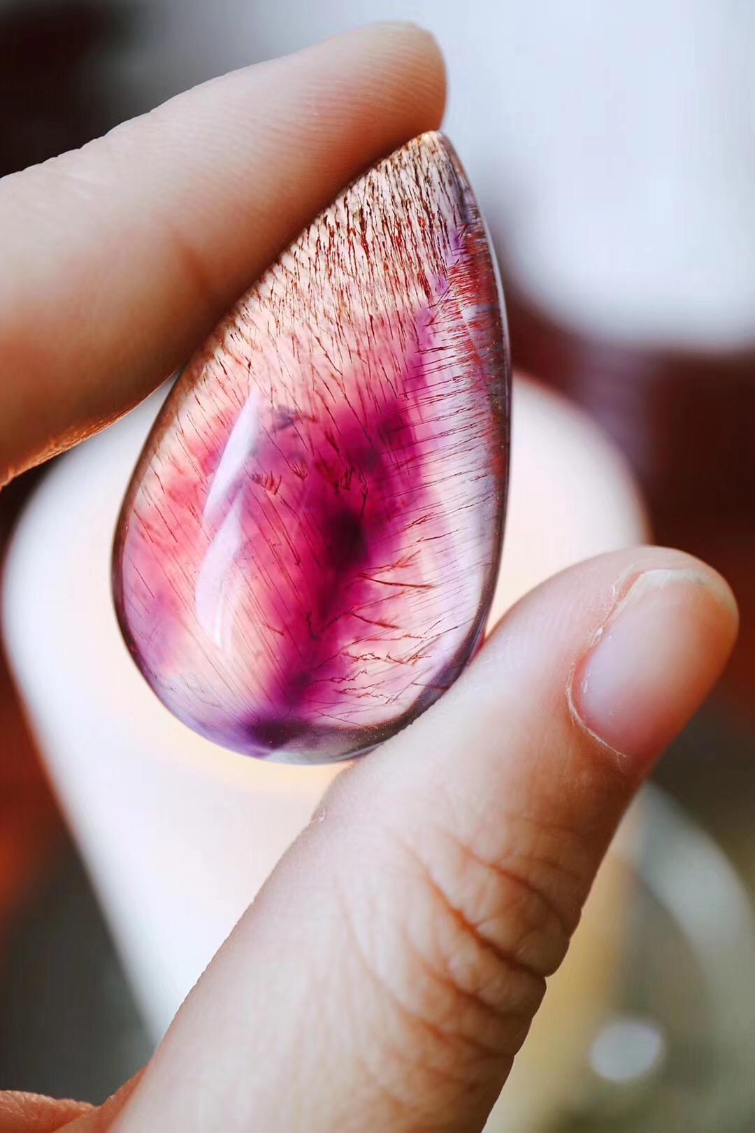 【菩心-紫发晶&收藏级】简单的回纹镶嵌,亦是经典-菩心晶舍