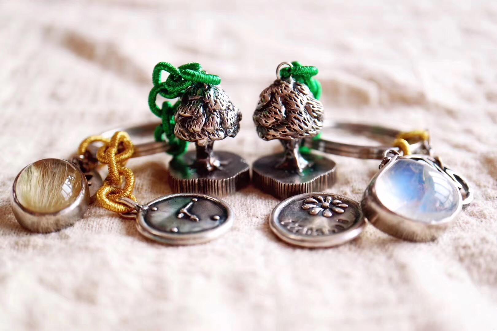 【菩心-生命之树印章多宝】这次生命之树🌳🌳定制的小主人是一对兄妹-菩心晶舍