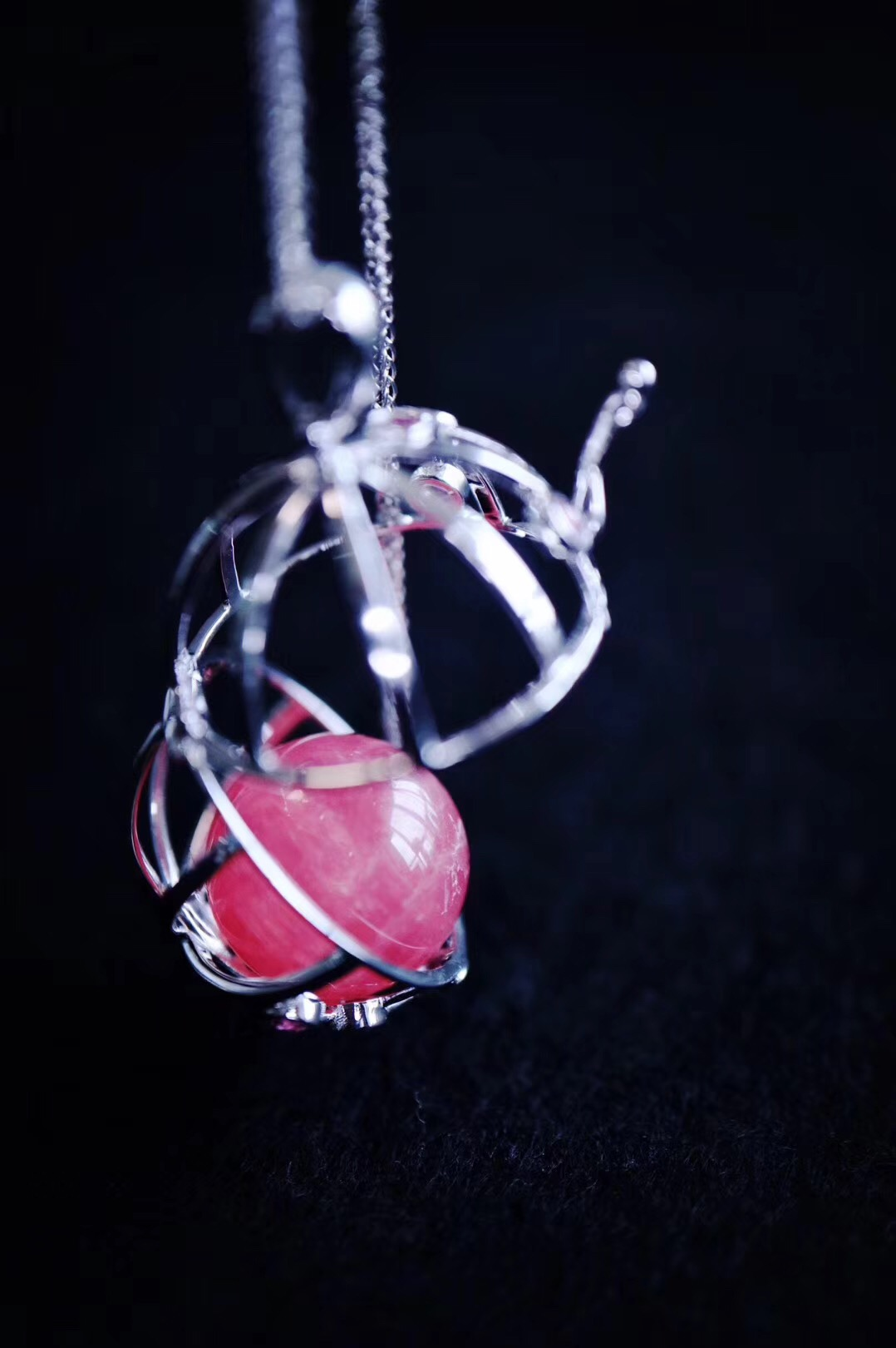 【白金摩羯座♑️|彩碧玺排戒】DIY配色的白金星座球和彩碧玺排戒。-菩心晶舍