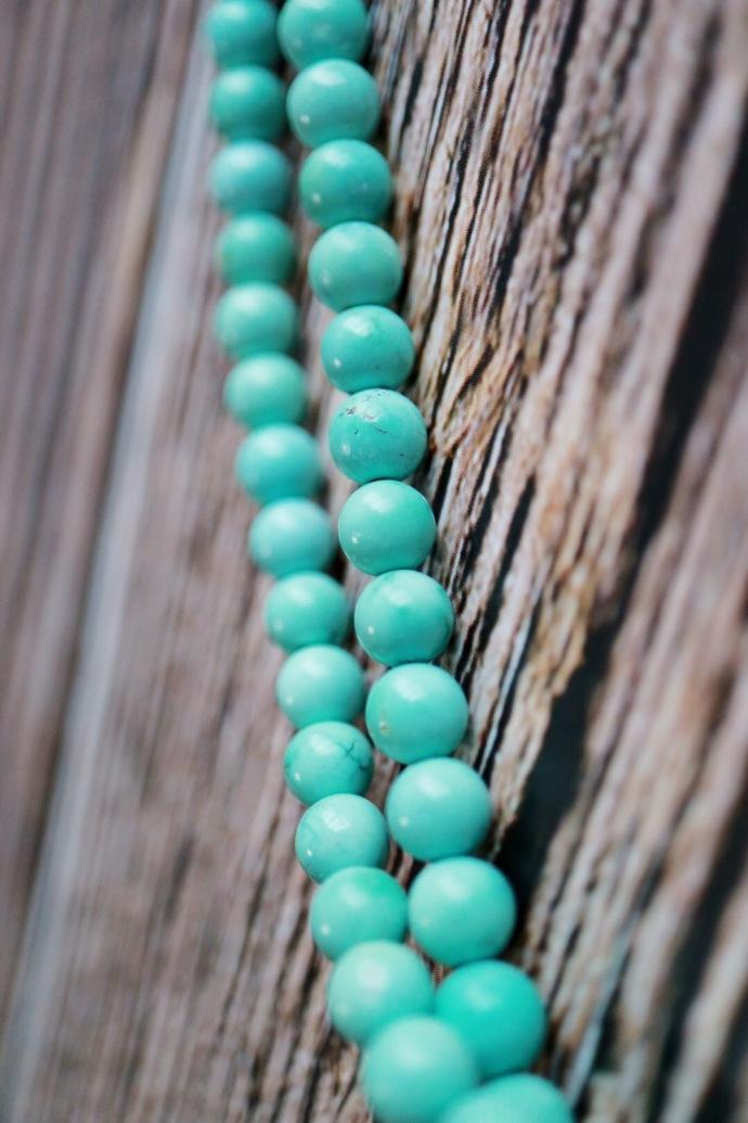 【原矿高瓷绿松石】把玩过后的风情,必然是惊艳-菩心晶舍