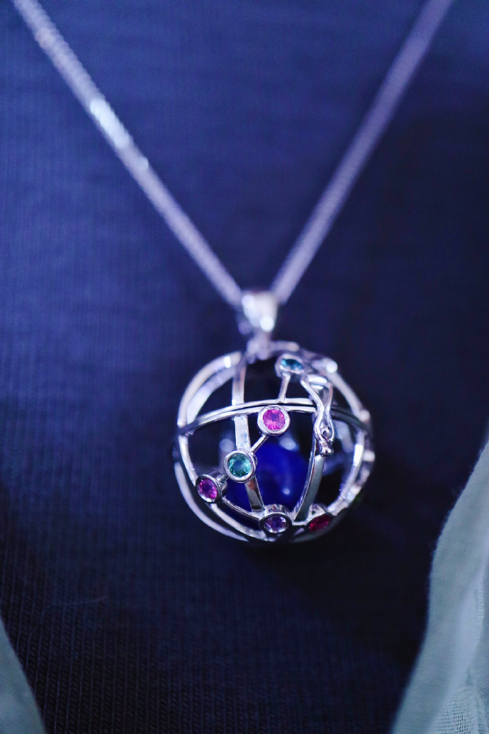 【星座球|摩羯座♑️-白金】爱藏心事的摩羯座宝宝-菩心晶舍