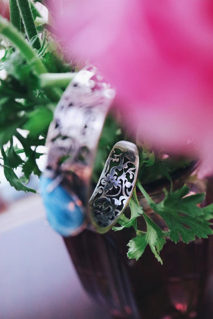 【海纹石·兰花镯】原来,是在等她。-菩心晶舍