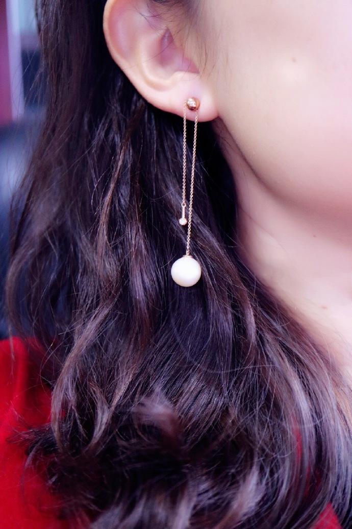 【珍珠耳环-客订改款】你的明媚我尽收眼底,你的难过我感同身受-菩心晶舍
