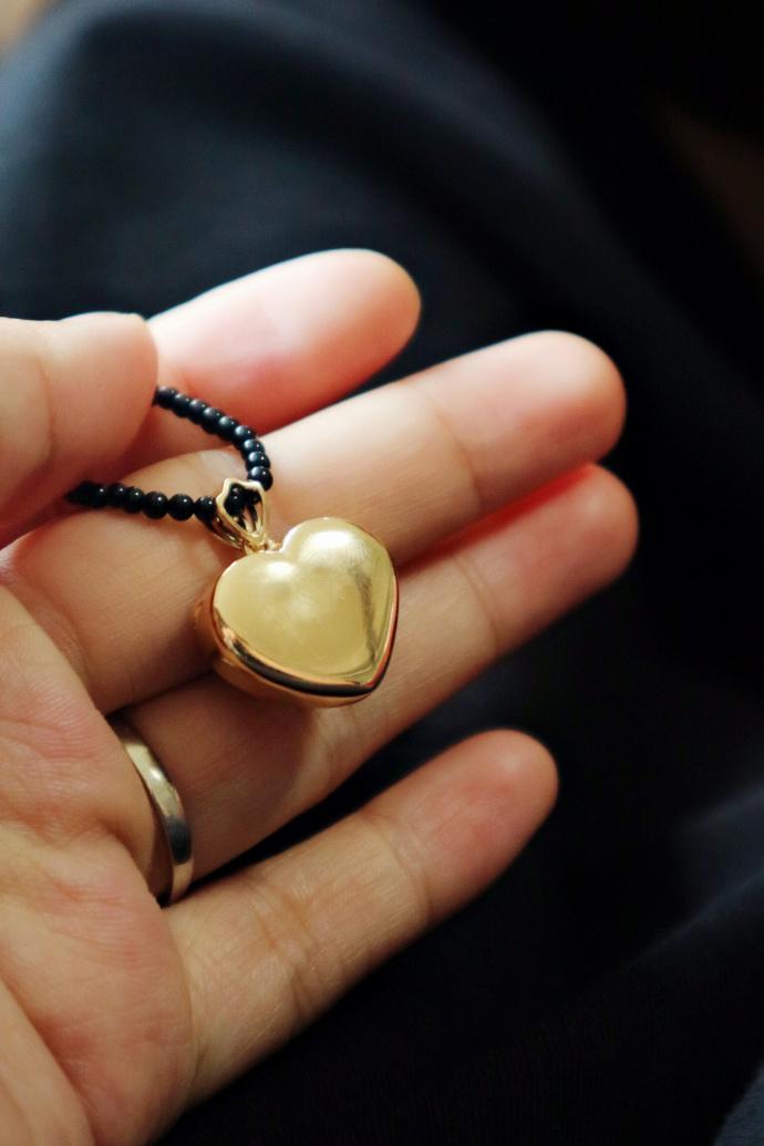红纹石|18k金,疗愈心轮所有积压的郁结和忧愁-菩心晶舍