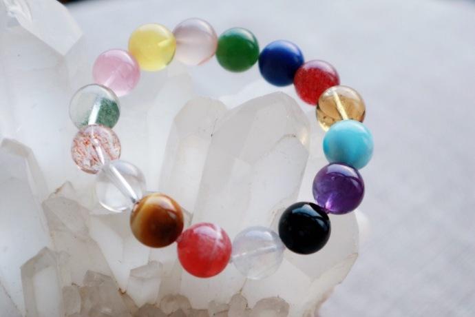 【多宝手串】晶石世界,因爱💗而生,往后岁月,多姿多彩~~-菩心晶舍