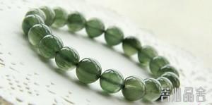 绿幽灵和绿发晶的区别-菩心晶舍