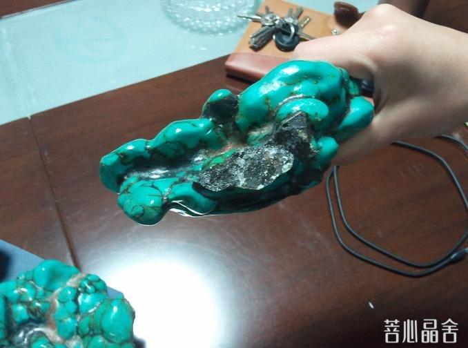 绿松石的保养与净化-菩心晶舍
