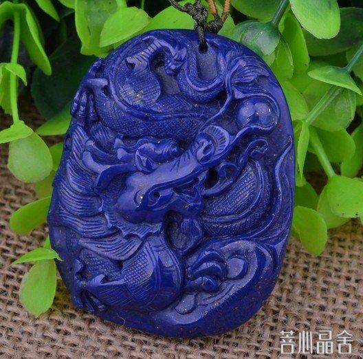 青金石在中国的历史-菩心晶舍