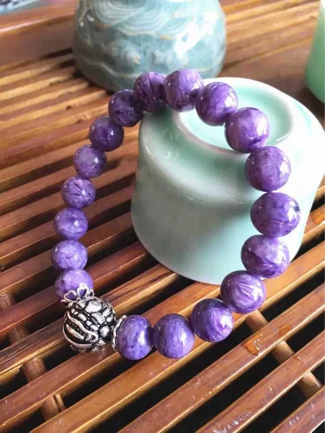 紫龙晶单圈手链-菩心晶舍