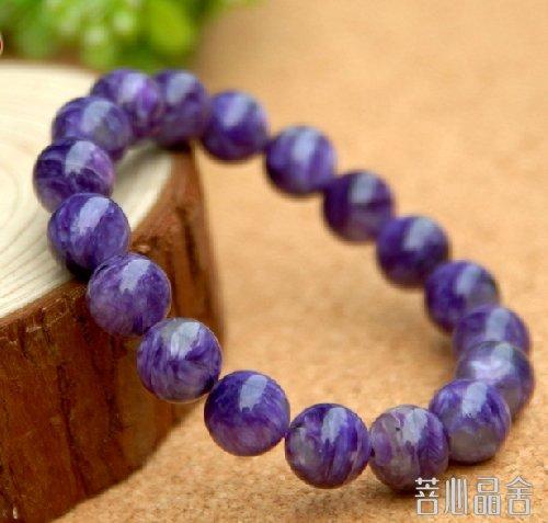 水晶知识大全之-紫龙晶
