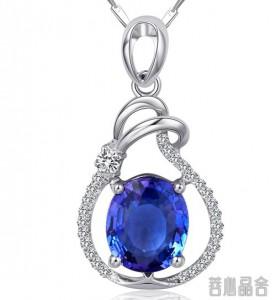 坦桑石与蓝宝石的美丽误会-菩心晶舍