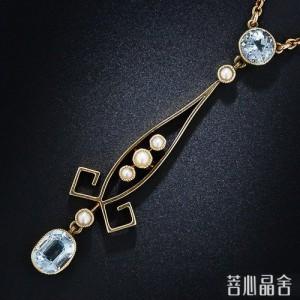【赏】新艺术风格 海蓝宝篇-菩心晶舍