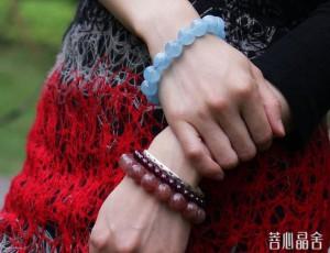 海蓝宝的价值-菩心晶舍