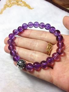 怎样辨别紫水晶的真假-菩心晶舍