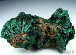 孔雀石的品种-菩心晶舍