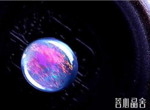 欧泊石的鉴别-菩心晶舍