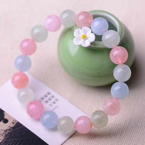 粉色之星摩根石