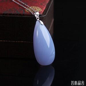 海蓝宝和蓝玉髓的区别-菩心晶舍