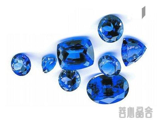 蓝宝石的净化方法