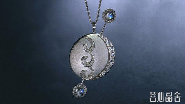 彩虹月光石 她只是月光石的姐妹-菩心晶舍