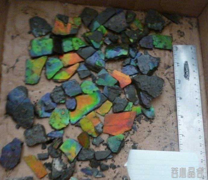 斑彩石的的加工过程