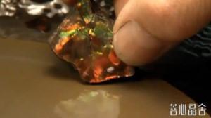 斑彩石的的加工过程-菩心晶舍