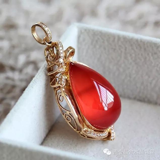 传说中红纹石能招来真命天子?