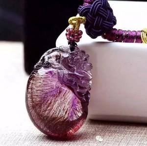 """""""紫发晶""""可比""""紫水晶""""强多了!-菩心晶舍"""