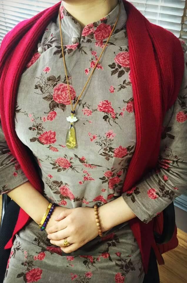 墨西哥琥珀项链-菩心晶舍